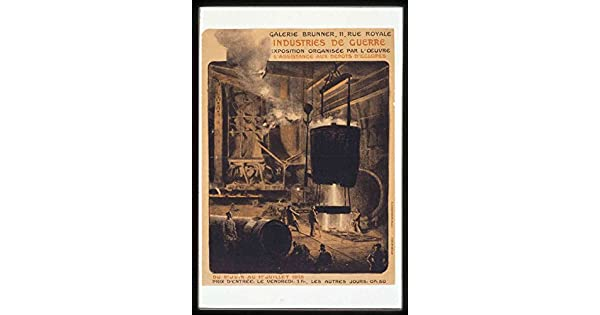Amazon.com: The Museum Outlet - Vintage - Industry - Poster ...