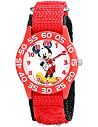 Kids' W001657 Mickey Mouse Analog Red Watch