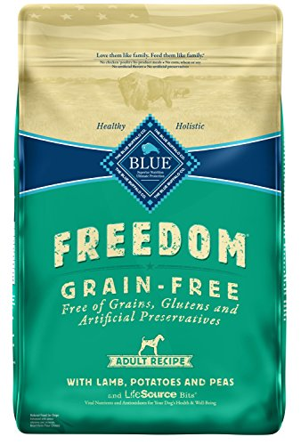 Cheap Blue Buffalo Freedom Grain Free Recipe for Dog, Lamb Recipe, 24 lb