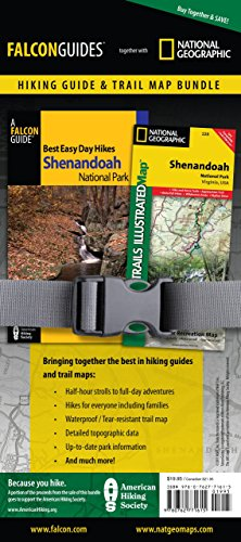 Best Easy Day Hiking Guide and Trail Map Bundle: Shenandoah National Park (Best Easy Day Hikes Series) (Best Campground In Shenandoah National Park)