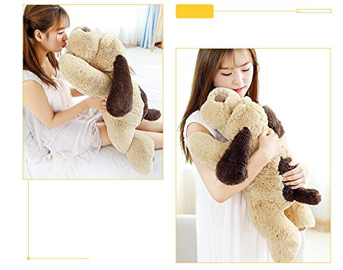 MorisMos Puppy Dog Stuffed Animal Soft Plush Dog Pillow Big Plush Toy for Girls Kids (Small-31 Inch)