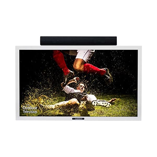 "Sunbrite TV SB-4217HD-WH 42"" Pro Series Direct Sun Outdoor All-Weather Television, White 4"
