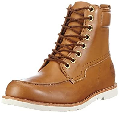 Timberland Men's Earthkeeper Moccasin Toe Waterproof Boot,Burnished Light Brown,13 W US