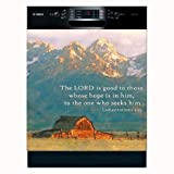 Lamentations 3:25 Biblical Appliance Art Decorative Magnetic Dishwasher Front Panel Cover - Quick, Easy & Affordable DIY Kitche? UPGRADE