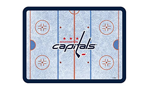Washington Capitals Nhl Light (NHL Washington Capitals NHL Placemat - 4-Piece, Light Blue, 11 3/8