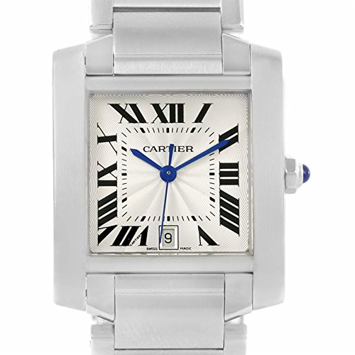 Cartier Tank Francaise automatic-self-wind womens Watch W51002Q3 (Certified Pre-owned) by Cartier