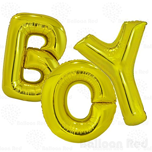 40 Inch Jumbo Helium Foil Mylar Balloons Bouquet (Premium Quality), Matte Gold, Letters (Halloween Costumes That R Easy)
