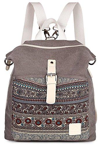 Women Backpack Purse Yolin LadiesFashion Shoulder Bag Multifunctional Casual Backpack Girl School Bag