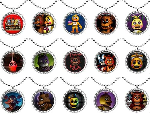 Five nights at freddys necklace