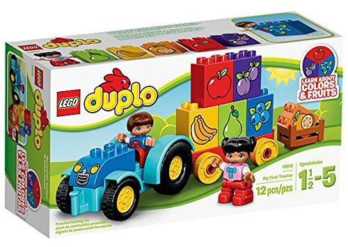 Lego Duplo Mon Premier Tracteur–Jeux de Construction (Multicolore, 1,5année (s), 12pièce (s), Enfant/Fille, 5Année (s), Duplo) 10615