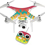 MightySkins Protective Vinyl Skin Decal for DJI Phantom 3 Standard Quadcopter Drone wrap cover sticker skins Sherbet Palms