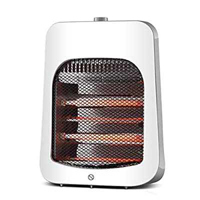 Desktop Desktop Heater/Bathroom Frequency Conversion Energy-saving Mini Electric Heating 3S Rapid Heating Quartz Tube Heating Heating And Humidification One Overheat Protection Dumping Power Failure