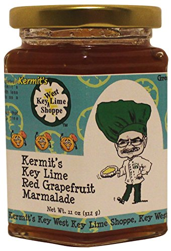 Lime Tea Cookies (Red Grapefruit Marmalade 11oz Kermit's Key West from Key Lime Juice | Gluten Free Non-GMO Toppings Dessert Fillings | American Breakfast Essentials (11oz, Red Grpfrt))
