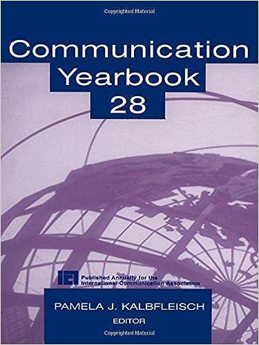 Communication Yearbook 33: Volume 28