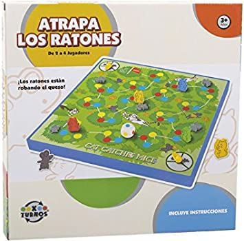 XTURNOS Atrapa Los Ratones: Amazon.es: Juguetes y juegos