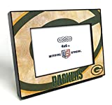 Winning Streak Green Bay Packers NFL (4x6 in) Table Top Wood Picture Frame with Black Edges