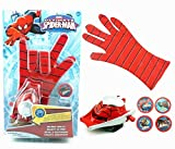 Ultimate Spiderman Gloves With Disc Launcher For Real Action…………
