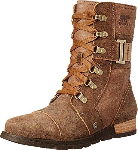 Sorel Women's Sorel Major Carly Snow Boot, Nutmeg, Flax, 10 B US