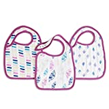 aden + anais Classic Snap Bib 3 Pack, Wink