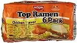 Nissin Foods Top Ramen, Chicken, 18 oz, 6 pk