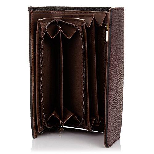 Porte FIRENZE monnaie cuir en v ARTEGIANI femme pour authentique cuir 5SrS6Twqx