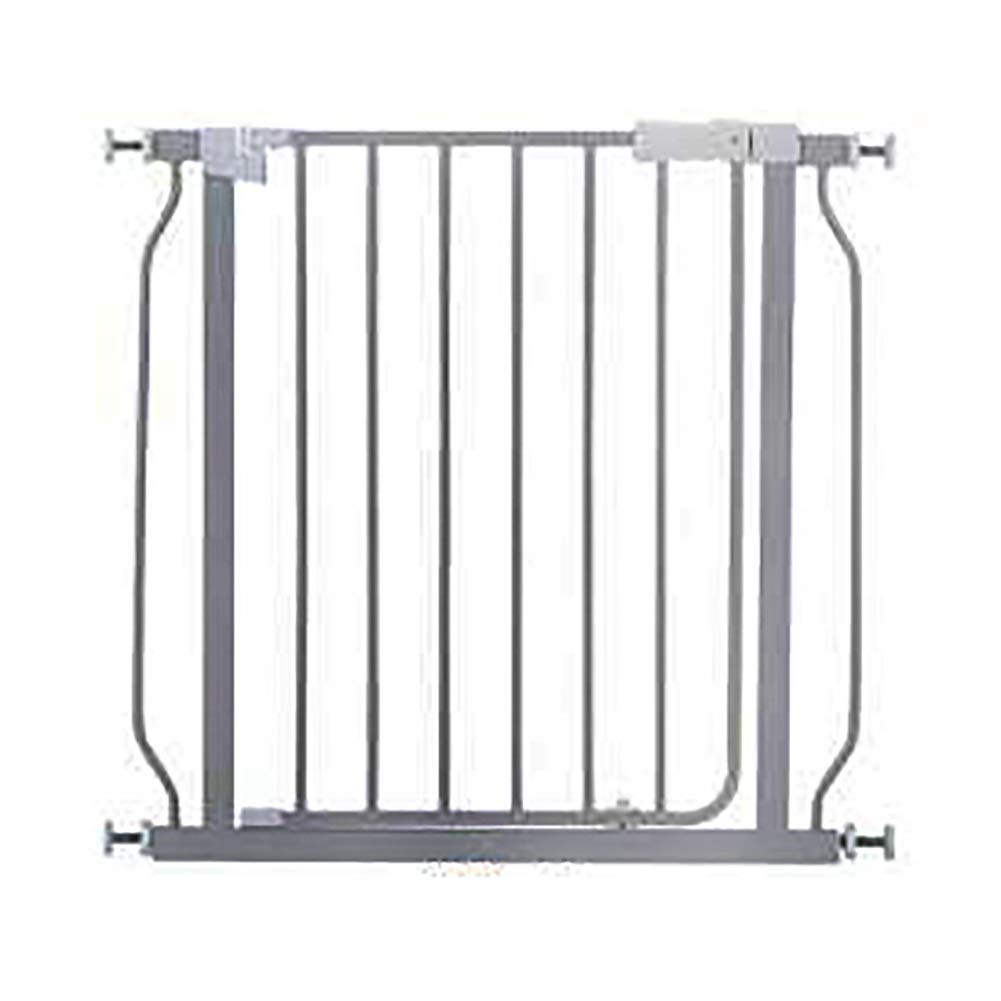 100-106cm Baby Safety Playpen Hearth Gates, Extending Metal Pet Dogs Cats Fences Gates Isolation Door, Silver Grey, Height 70.5cm (Size   100-106cm)