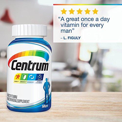 Centrum Men (250 Count) Multivitamin / Multimineral Supplement Tablet, Vitamin D3 by Centrum (Image #4)