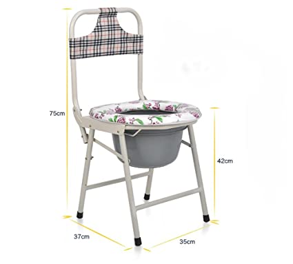 Amazon.com: G & M Sitting Chair Silla Silla Con Retrete ...