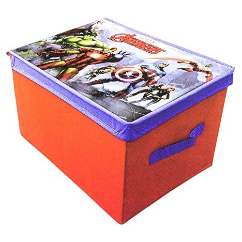 Spider Organizer Man Toy - The Avengers (Avengers)–Box GUARDAJUGUETES Folding Suncity avd402311