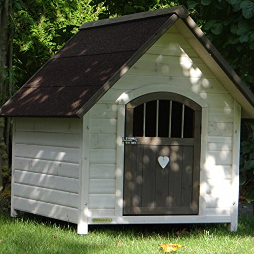 Dog house Private 1 white grey
