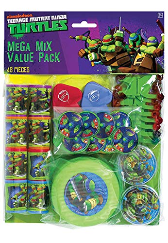 TMNT 48-Piece Favor Pack, Party Favor -