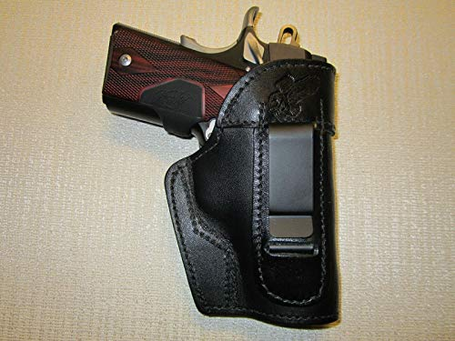 Kimber Ultra Carry II & COLT Defender IWB Leather Holster, Right or Left Hand (Iwb Holster For Kimber Pro Carry Ii)