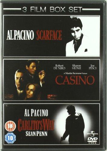 Casino / Scarface / Carlito's Way [Import anglais] (Carlitos Way Dvd)