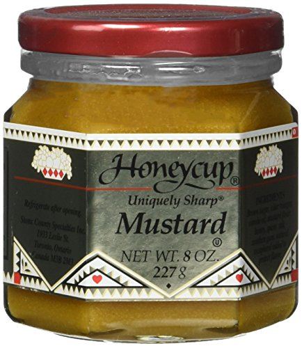 Honeycup Mustard, 8 Ounce Jar (Pack of 6) ()