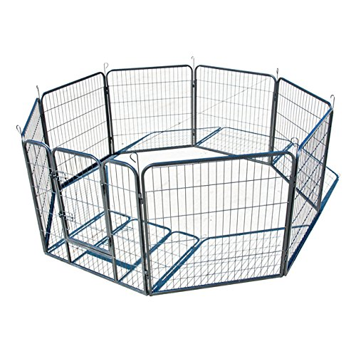 My1stPet Panels Exercise Playpen Hammertone product image