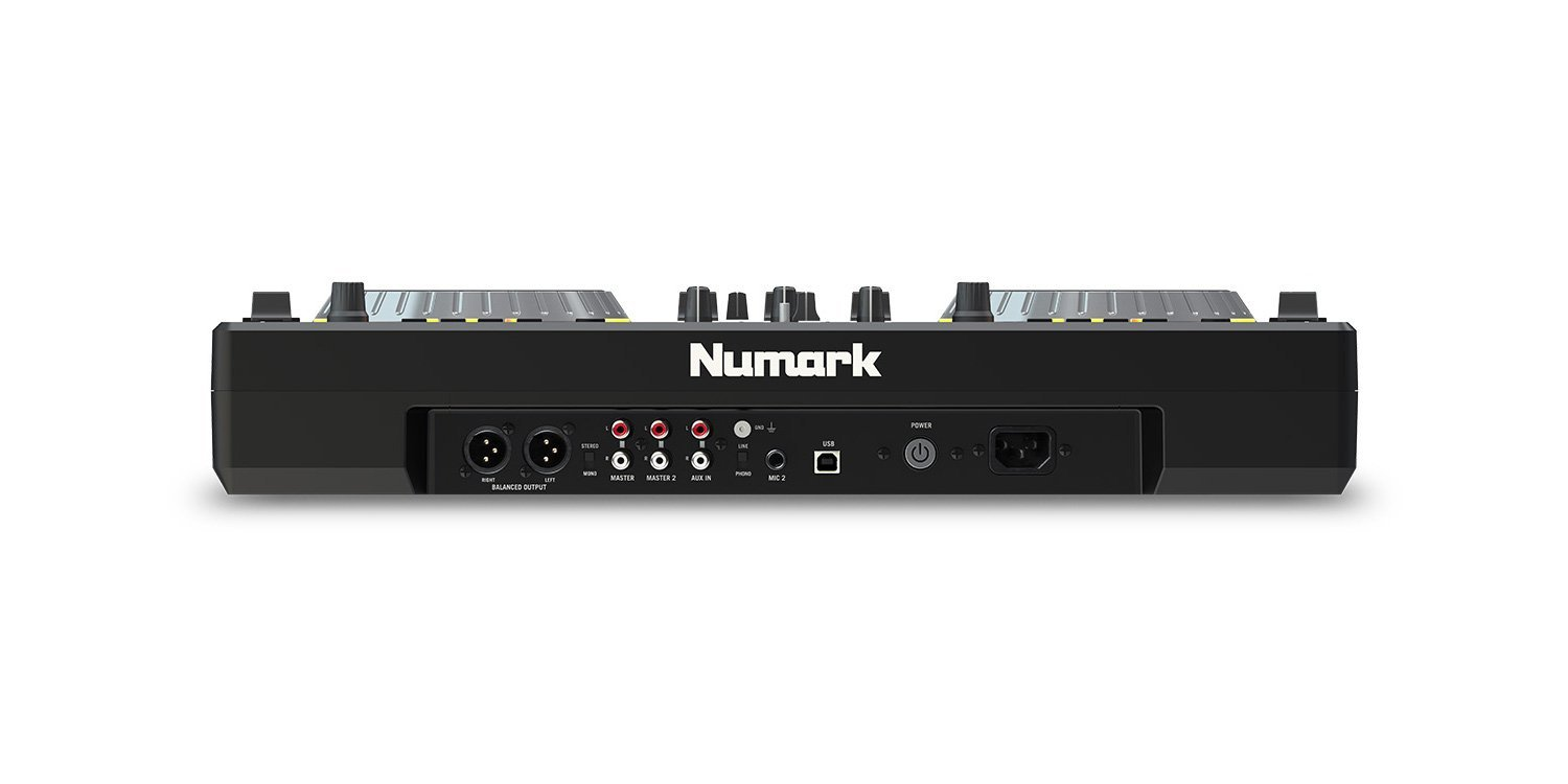 Numark Mixdeck Express Premium Dj Controller With Cd Mixtrack Pro Wiring Diagram Usb Playback Current Model Musical Instruments