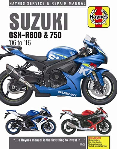 2006-2016 Suzuki GSXR600 GSXR750 GSXR 600 750 HAYNES REPAIR MANUAL 4790 by i5 Motorcycle (Image #3)