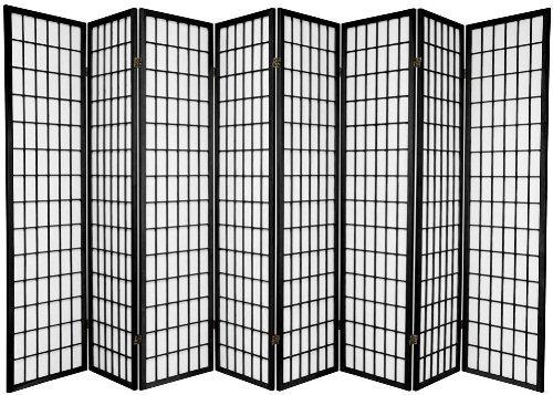 amazon com legacy decor 8 panel japanese oriental style room screen rh amazon com Room Divider Screens Amazon Room Dividers for the Home