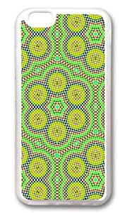 iPhone 6 Case,VUTTOO iPhone 6 Cover With Photo: Psychedelic Dots For Apple iPhone 6 4.7Inch - TPU Transparent