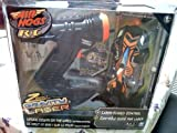 Air Hogs Black & Orange Race Car Laser Micro Zero Gravity