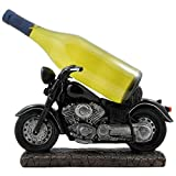 Cheap Classic Motorcycle Wine Bottle Holder Statue for Vintage Bike & Chopper Model Sculptures As Bar or Kitchen Decor Tabletop Wine Stands & Racks and Decorative Gifts for Bikers