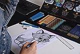 Sela Art-54 Pcs Professional Art Pencil Set! Great
