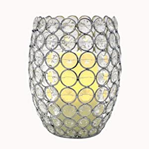 Flipo Tirara Beaded Hurricane, Clear