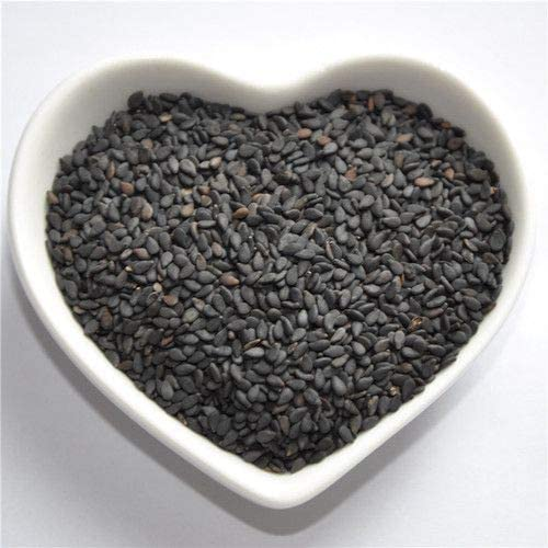 GOUP Black Sesame Seeds 黒ゴマ   Net Quantity: 5 Lb (2.27 KG)   100% Pure Raw Natural   Unroasted Seeds   Free Shipping Worldwide