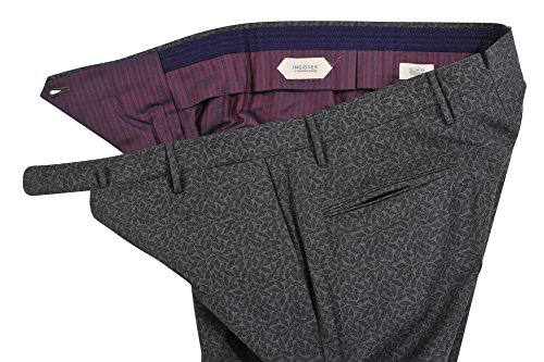 Incotex Pantalon Homme 46 Gris / Pantalon buisness coupe étroite Slim Cut R