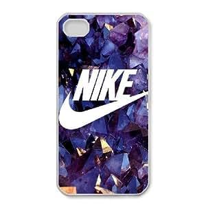 iPhone 4,4S Phone Case White Nike logo RX6033290