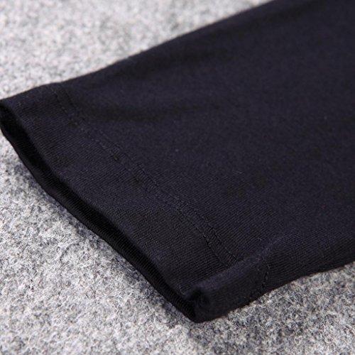 Liang Rou Women's Crewneck Stretch Top & Bottom Thin Underwear Set Black M Medium / 8-10 1 Set Black by Liang Rou (Image #6)