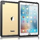 Temdan iPad Pro 9.7 Waterproof Case Rugged Sleek Transparent Cover with Built in Screen Protector Waterproof Case for Apple iPad Air 2/iPad Pro 9.7 inch
