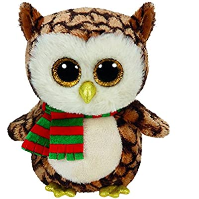 Ty Beanie Boos Wise The Owl Medium 9-inch Soft Plush: Toys & Games