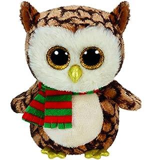 Ty Beanie Babies 36221 Boos Nester the Christmas Owl Boo
